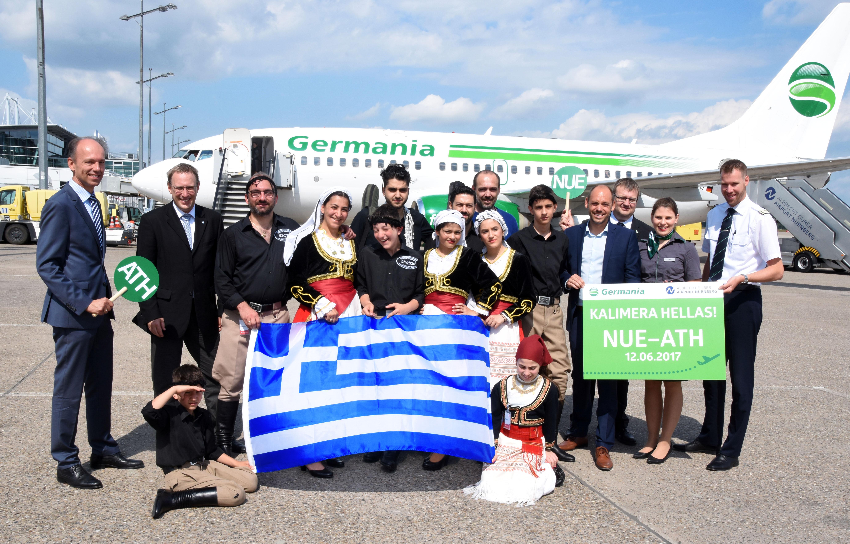 Nonstop nach Athen und weiter auf die Inseln: Germania nimmt neue Direktverbindung zwischen Nürnberg und der griechischen Hauptstadt auf
