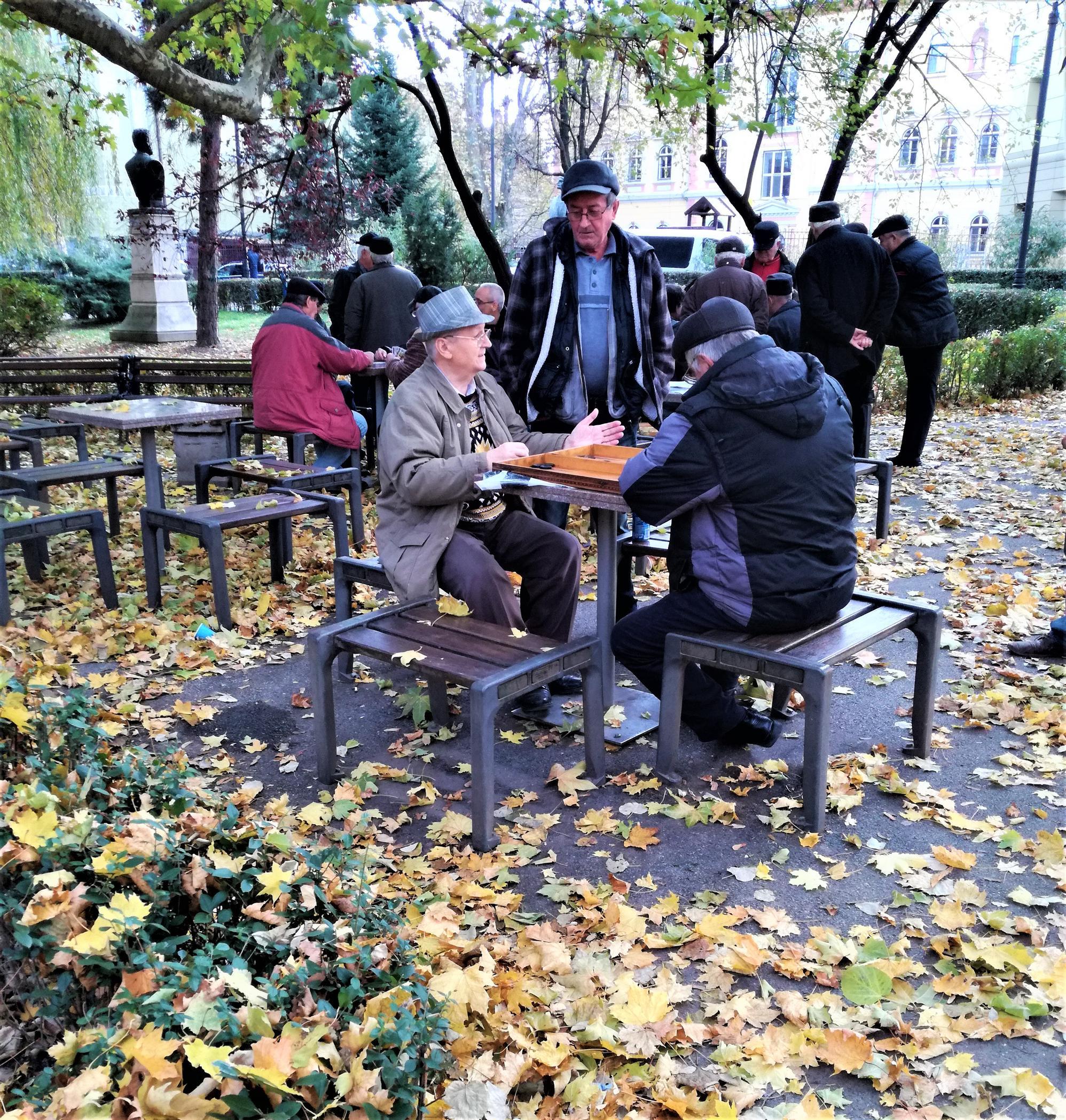 Der Astra-Park ist die grüne Lunge Sibius, sowie Treffpunkt für Jung und Alt