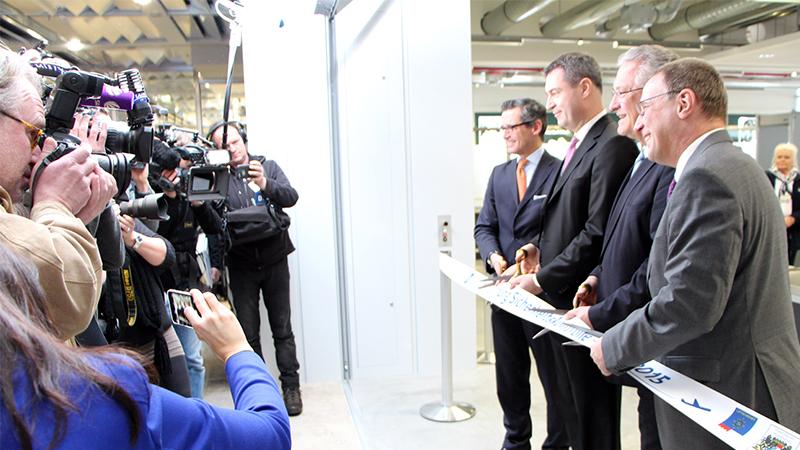 New security area at the Albrecht Dürer Airport