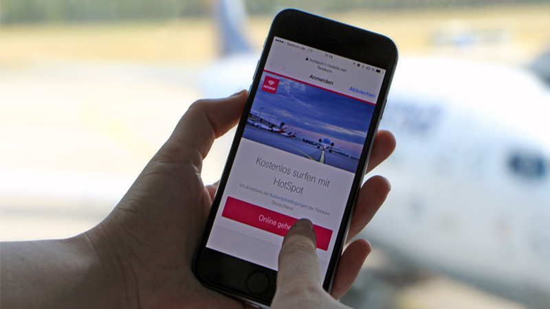 Relax and surf before take-off - 24/7 free WiFi at Airport Nürnberg