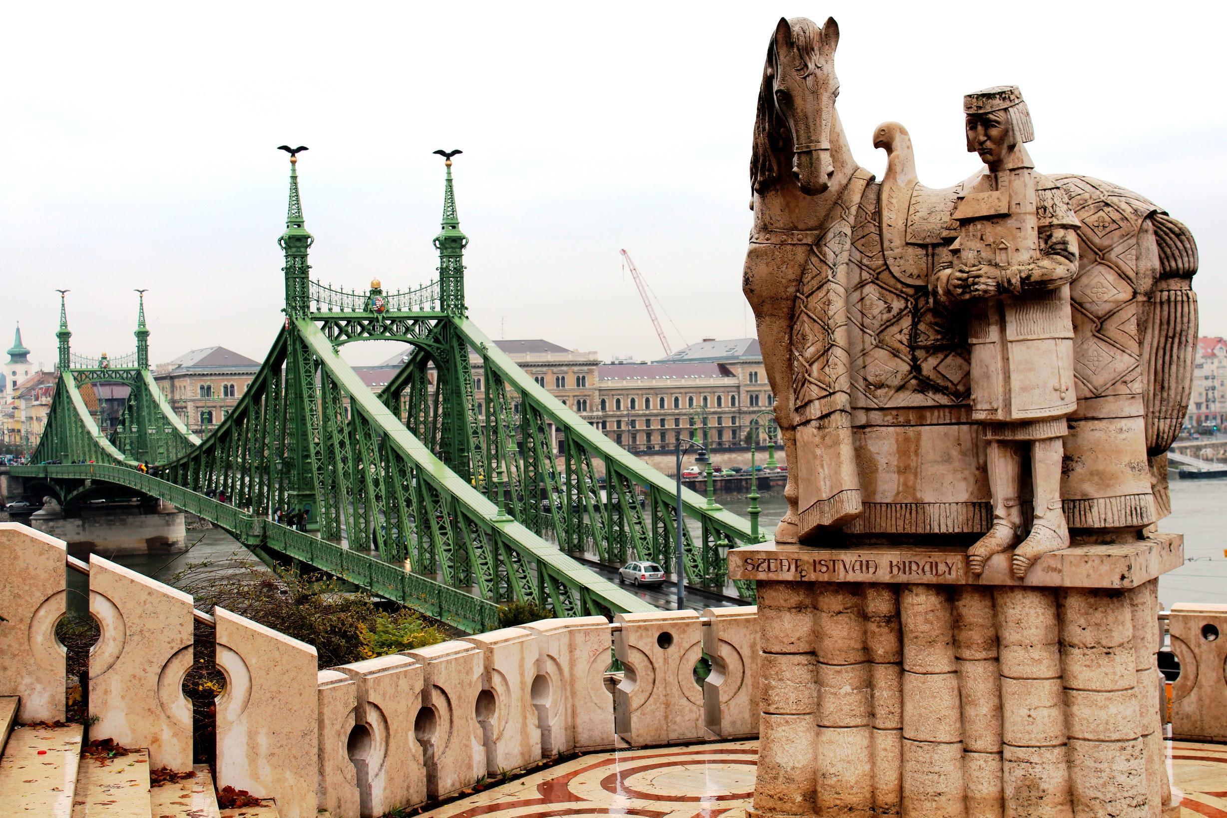 Statue von König Stephan