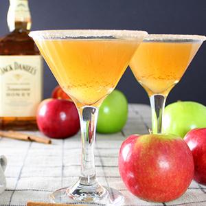Apple Cider Honey Jack Martini