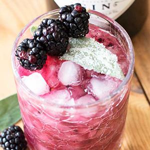 Blackberry Sage Gin Smash