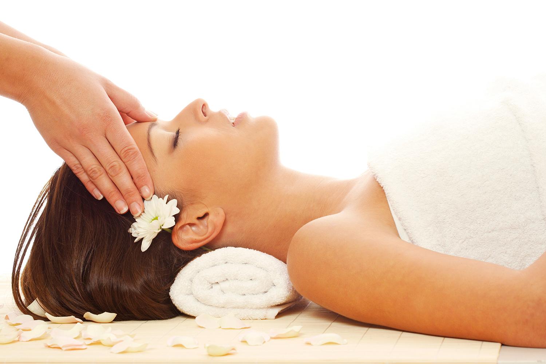 Massage, Frau