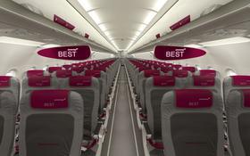Innenansicht einer Maschine von Germanwings