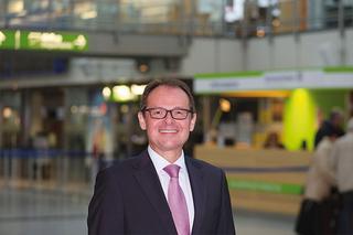 Udo Mager -   Geschäftsführer des Dortmund Airport im Terminal