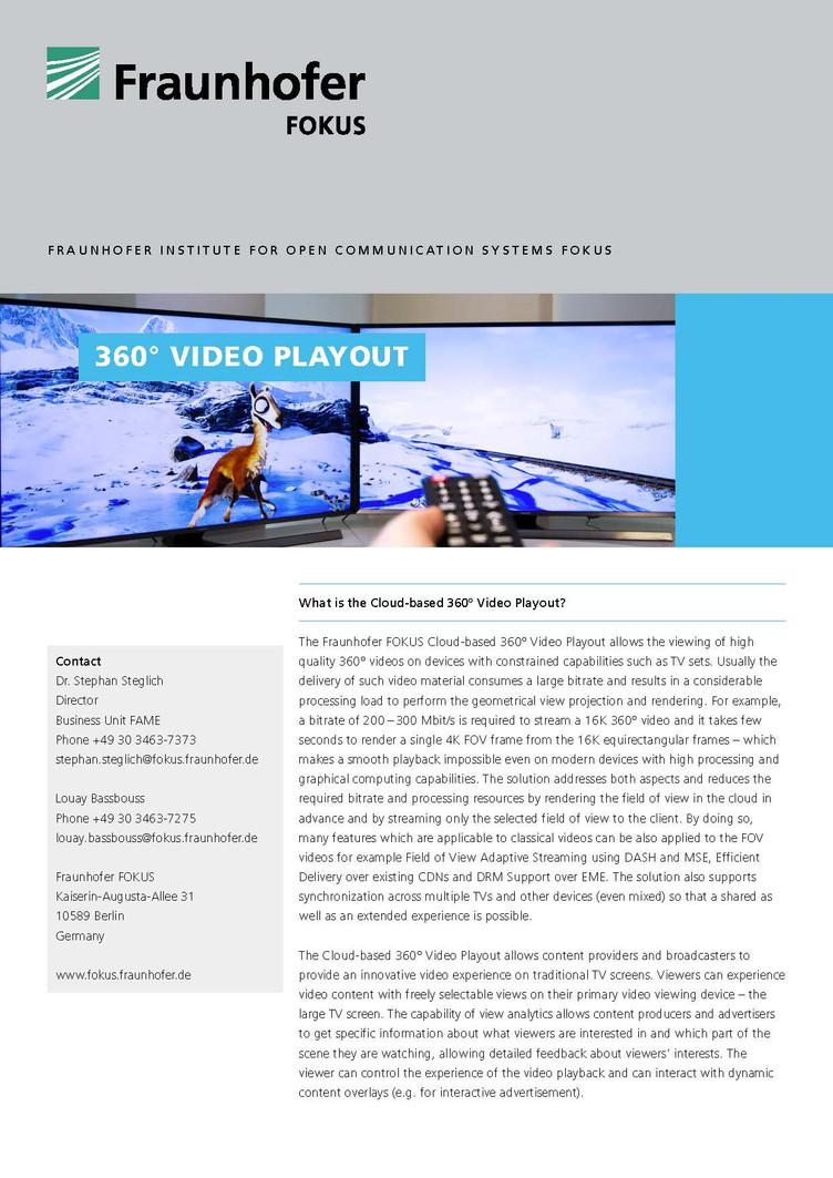 fokus fame 360 grad video playout