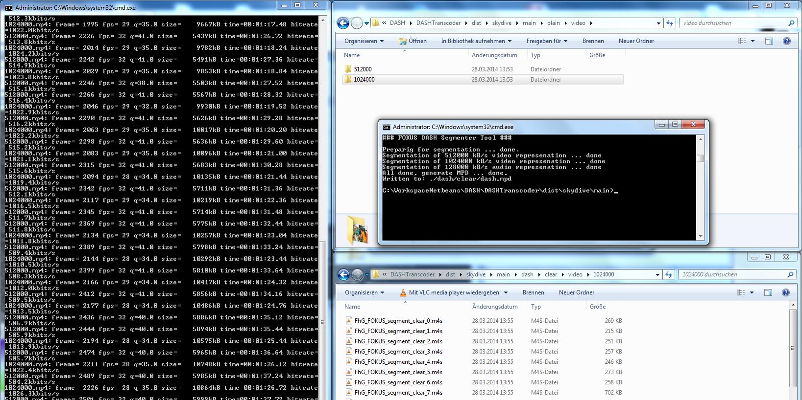 FAME MWS14 Demos Bild Demo 4 DASH DRM screen shot 2014