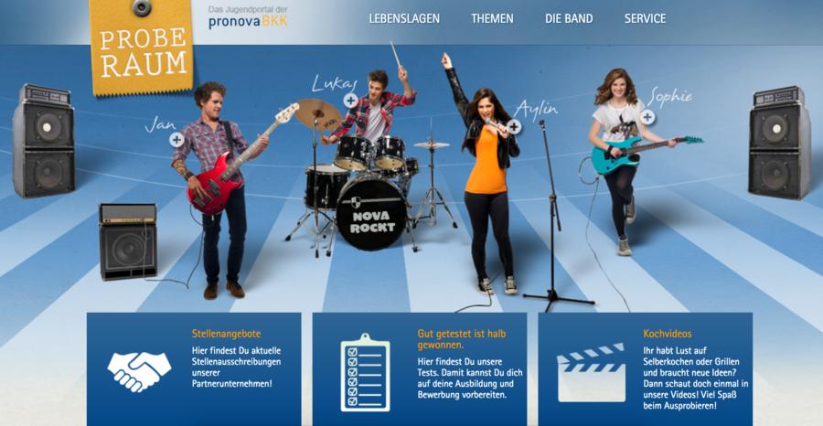 Pronova BKK Proberaum