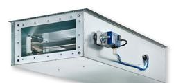For supply air systems with demanding acoustic requirements and low airflow velocities